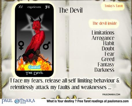 Tarot the Devil