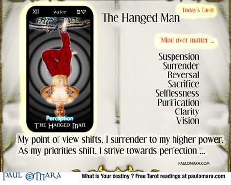 Tarot Hanged Man