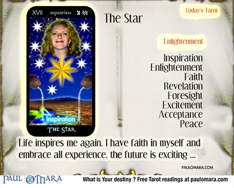 Star Tarot meanings and meditation