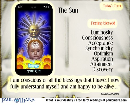 The Sun Tarot - Release the inner child