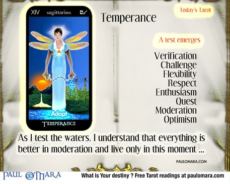 The Angel of Time , Temperance