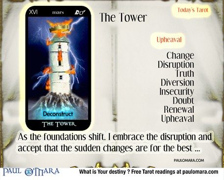 The Tower. The foundations begin to crumble