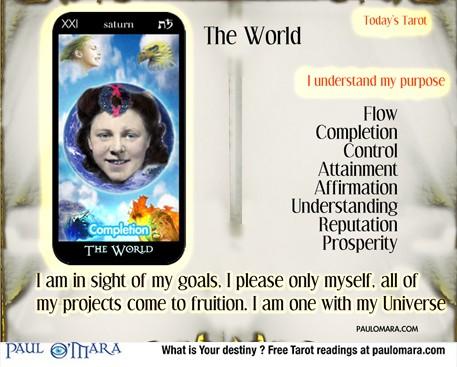 Tarot meanings major Arcana World