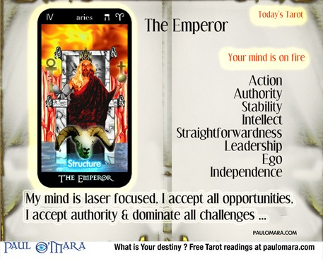 The Emperor - Aries - The Fiery Mind