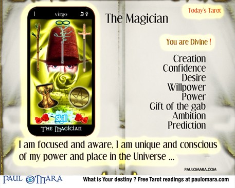 Tarot The Magus of Power The Magician