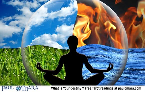 Earth Air Fire Water Tarot Magic